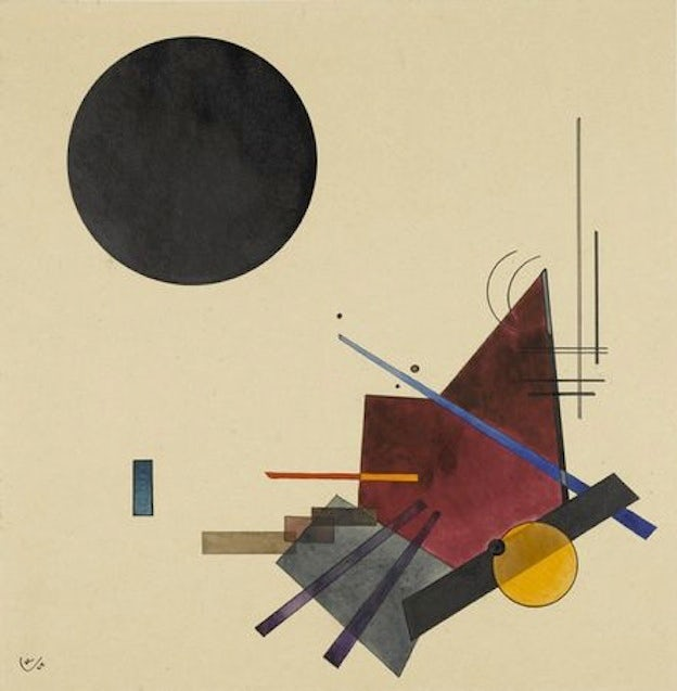 wassily kandinsky theory of form ad color