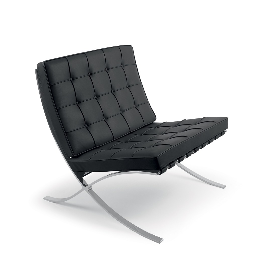 bauhaus-barcelona-Chair Ludwig Mies van der Rohe 1929