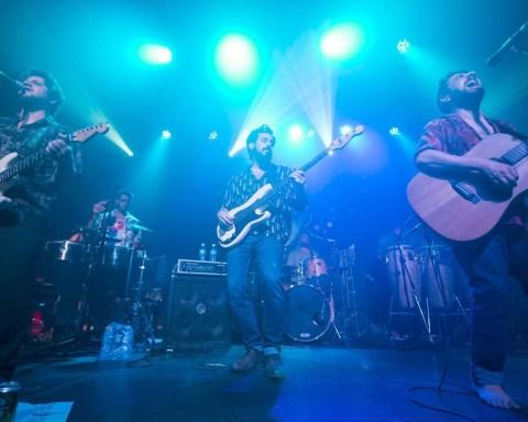 Concierto de la banda argentina Los Espíritus en la Fábrica de Arte Cubano, 8 de noviembre de 2018. Foto: Ana Lorena Gamboa.