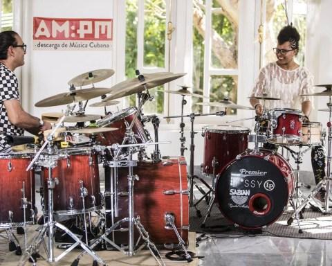 Horacio El Negro Hernandez y Yissy García. Foto: Larisa López / Magazine AM:PM