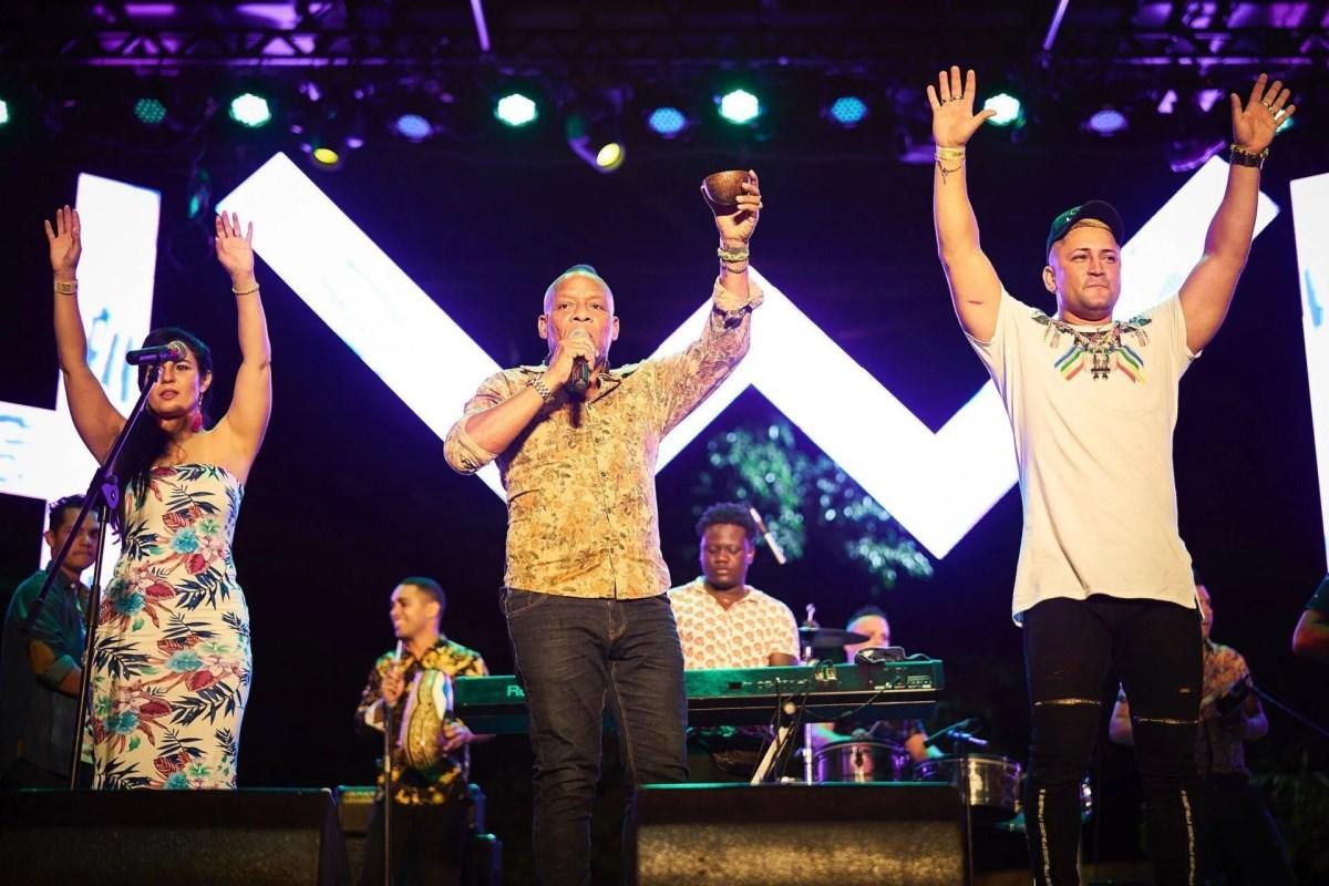 Concierto de Elito Revé y su Charangón en el Festival Havana World Music 2019. Foto: Jorge Luis Toledo / Magazine AM:PM.