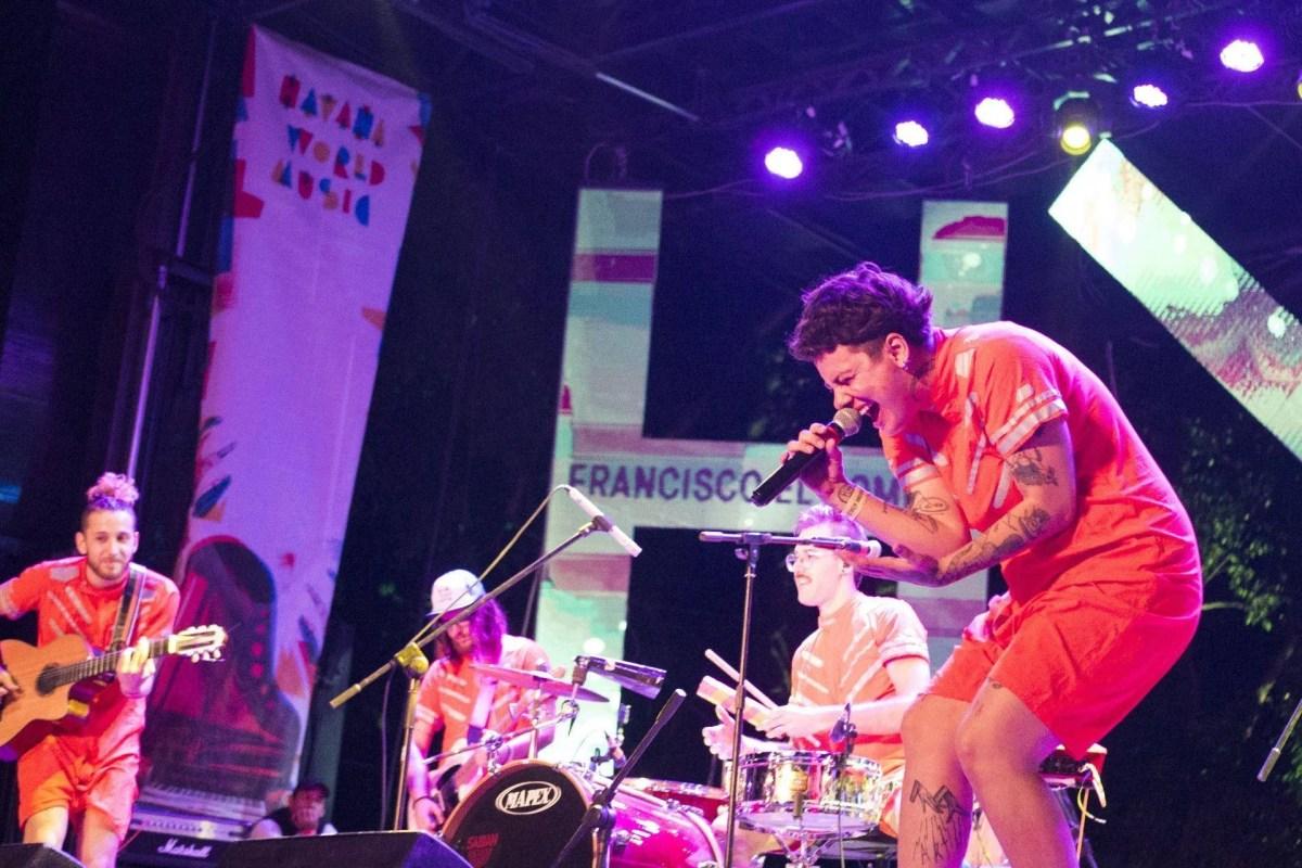 Concierto de Francisco el Hombre en el Festival Havana World Music 2019. Foto: Natalia Favre / Magazine AM:PM.