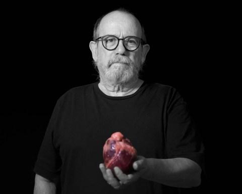 Silvio Rodríguez, expo +Retratos. Foto: Danay Nápoles.