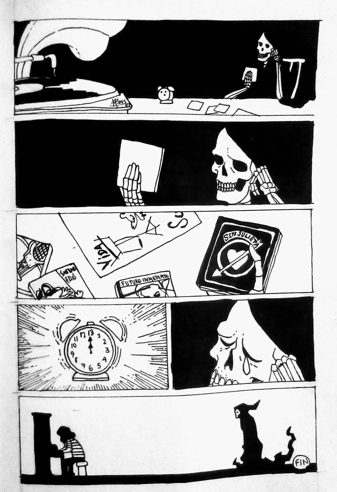 Inktober Día 31: Ripe. Ilustración:Mayo Bous / Magazine AM:PM.