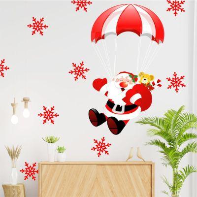 Adesivo de Parede Papai Noel 1