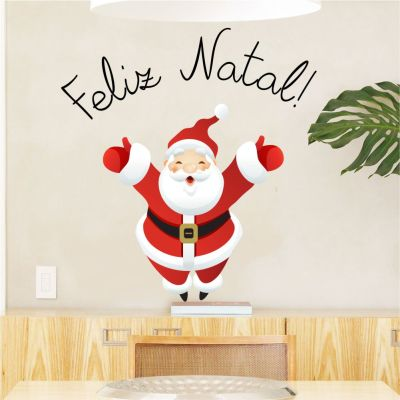 Adesivo de Parede Papai Noel 2