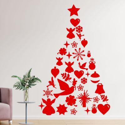 Adesivo de Parede Árvore de Natal 4