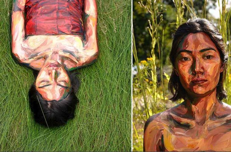 The body painting is being reinvented with Alexa Meades art