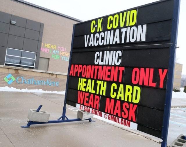 Los planes de vacunación varían en distintas partes de Ontario