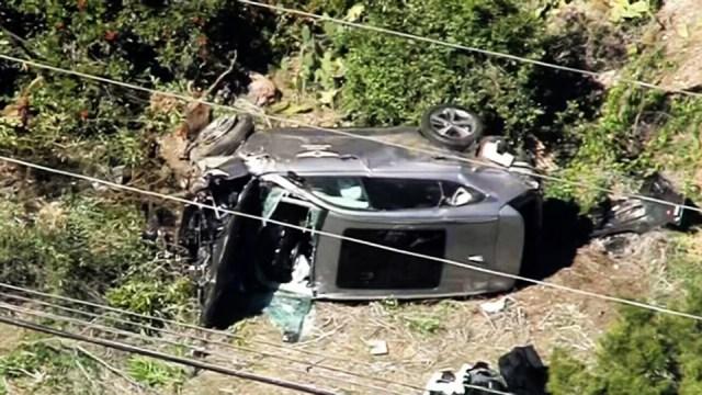 Tiger Woods trasladado a un hospital por sufrir accidente en California