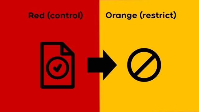 La región de London se mueve hacia la restricción naranja bajo el marco COVID-19