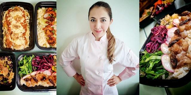 Alejandra Ortíz, mexicana, proveniente del Distrito Federal decidió crear su propia empresa de meal-prep, inspirándose en las recetas de su mamá