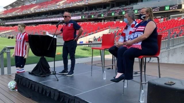 El club de fútbol profesional de Ottawa anuncia su retorno al TD Place