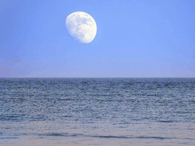 """NASA: """"La órbita de la Luna tambaleante traerá un 'aumento dramático' en las inundaciones costeras en la década de 2030"""""""