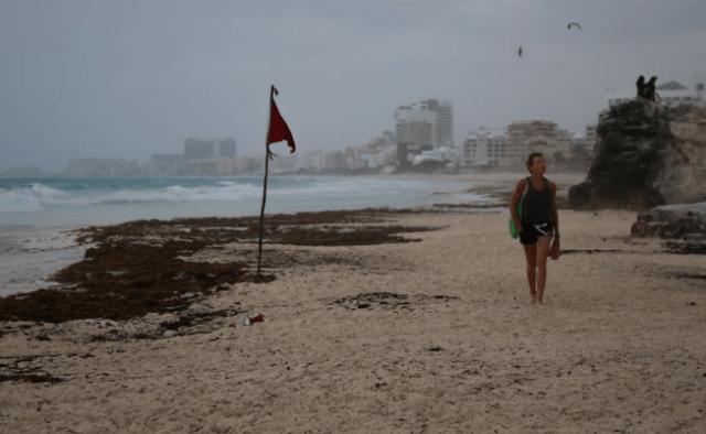 Grace se debilita y se convierte en tormenta tropical