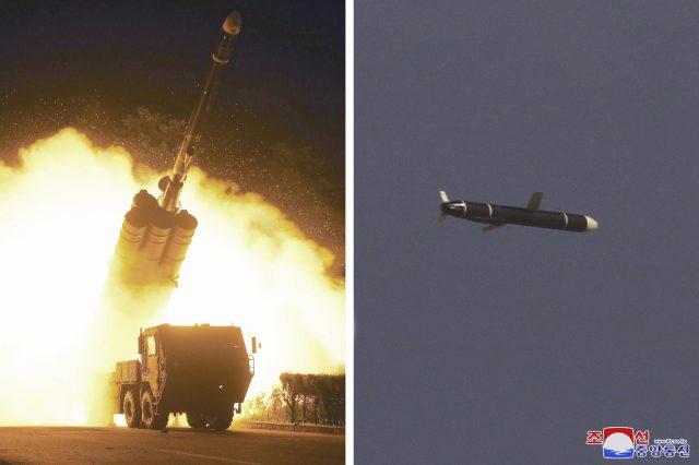 Corea del Norte probó misiles de crucero de largo alcance