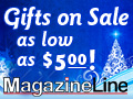 Gifts On Sale at MagazineLine!