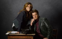 "CASTLE - ABC's ""Castle"" stars Stana Katic as NYPD Detective Kate Beckett and Nathan Fillion as Rick Castle. (ABC/BOB D'AMICO)"