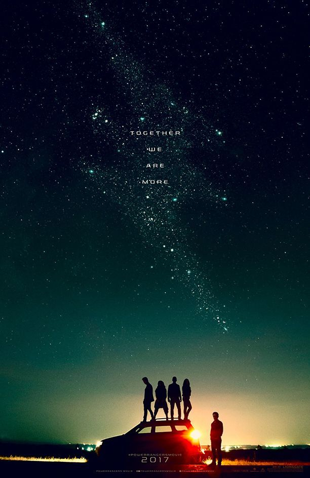 power-rangers movie poster