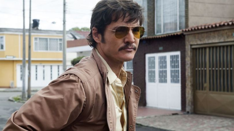 PEDRO PASCAL stars in NARCOS.