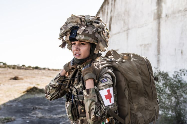 Programme Name: Our Girl - TX: n/a - Episode: n/a (No. 2) - Picture Shows: Georgie Lane (MICHELLE KEEGAN) - (C) BBC - Photographer: Coco Van Oppens