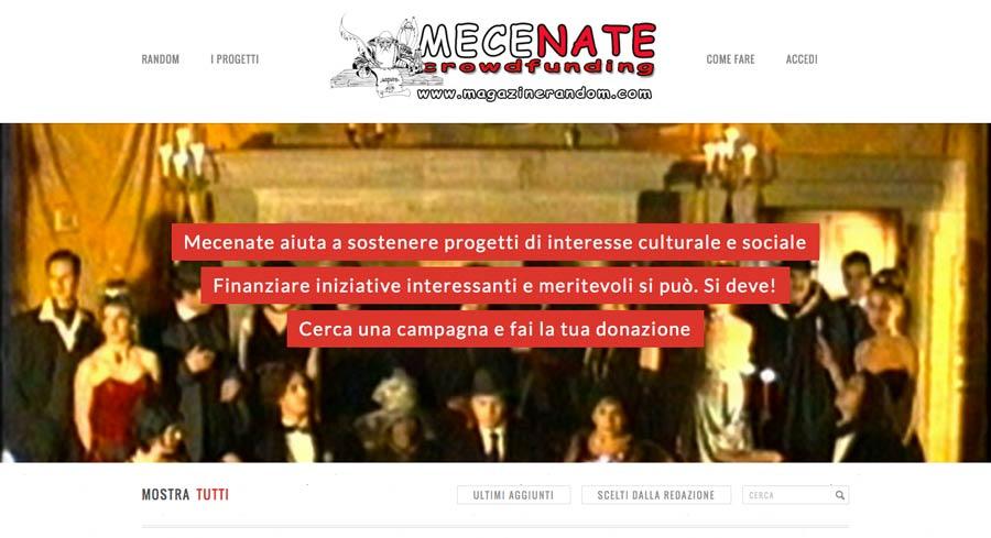 Mecenate, il crowdfunding culturale