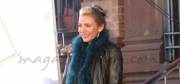 Cameron Diaz rueda en New York el remake de quotAnniequot