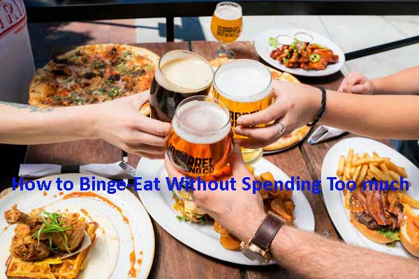 binge eating without spending