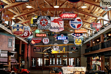 Let's do time travel -Gasoline Alley Museum