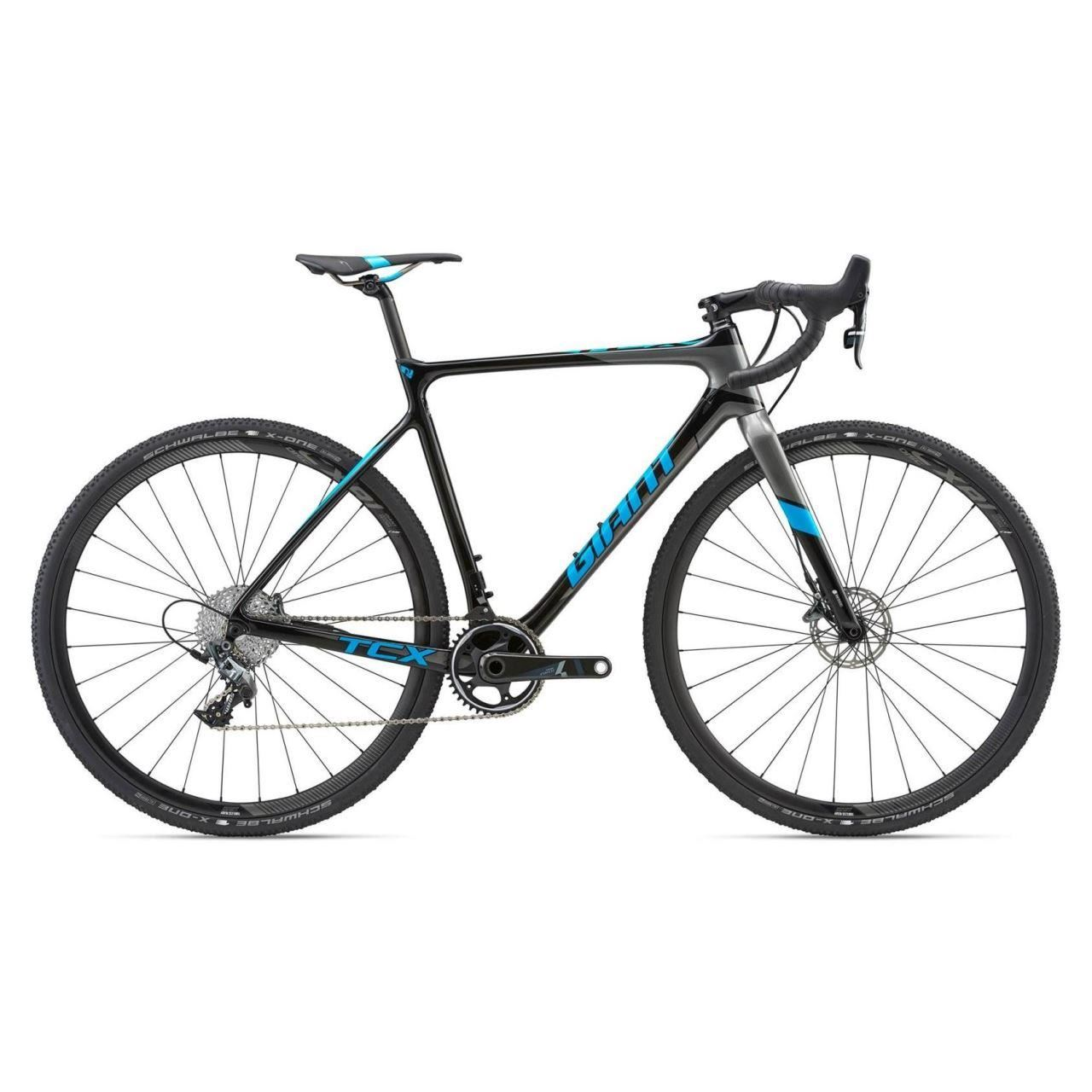 Bicicleta Giant TCX Advanced Pro 1 CARBON/BLUE/ 2018