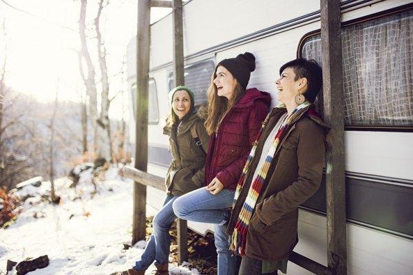 Wintercampen | Foto: iStock/Kosamtu