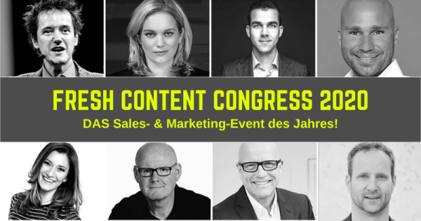 FRESH CONTENT Congress 2020