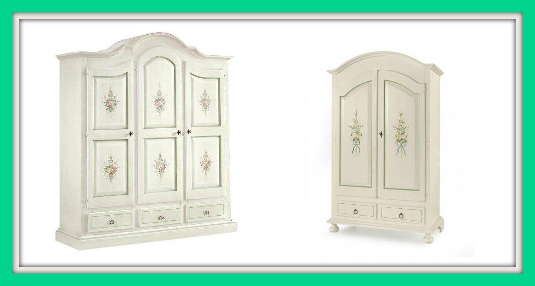 Lo straordinario romanticismo dei mobili decorati in stile