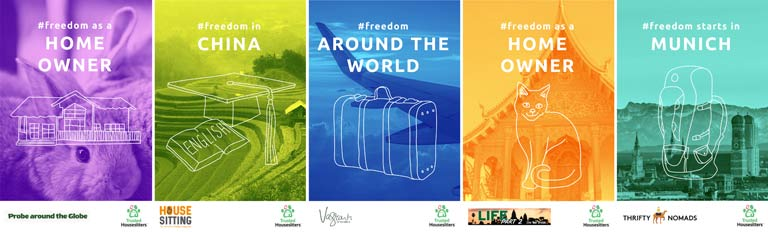 Freedom to travel - Storytellers Share on TrustedHousesitters