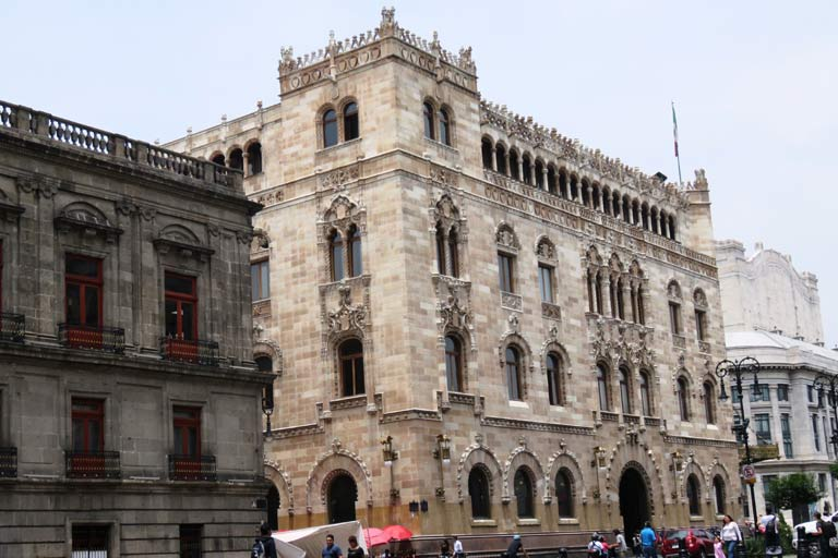 Stunning architecture in Mexico City Centre