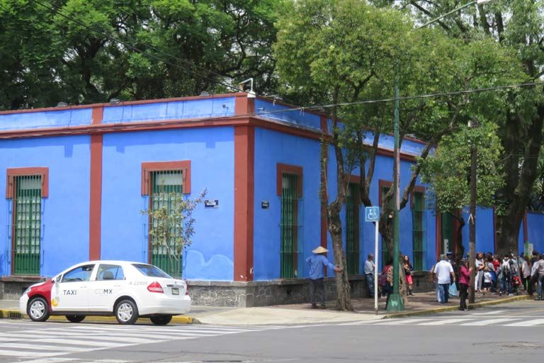 Casa Azul - an interesting museum, providing an insight into the life of Frida Kahlo
