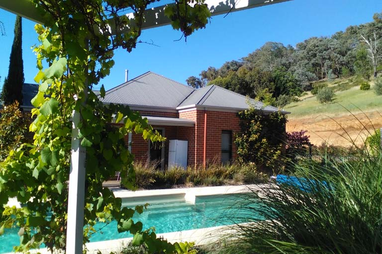 Our beautiful first house sit in Myrtleford, Victoria