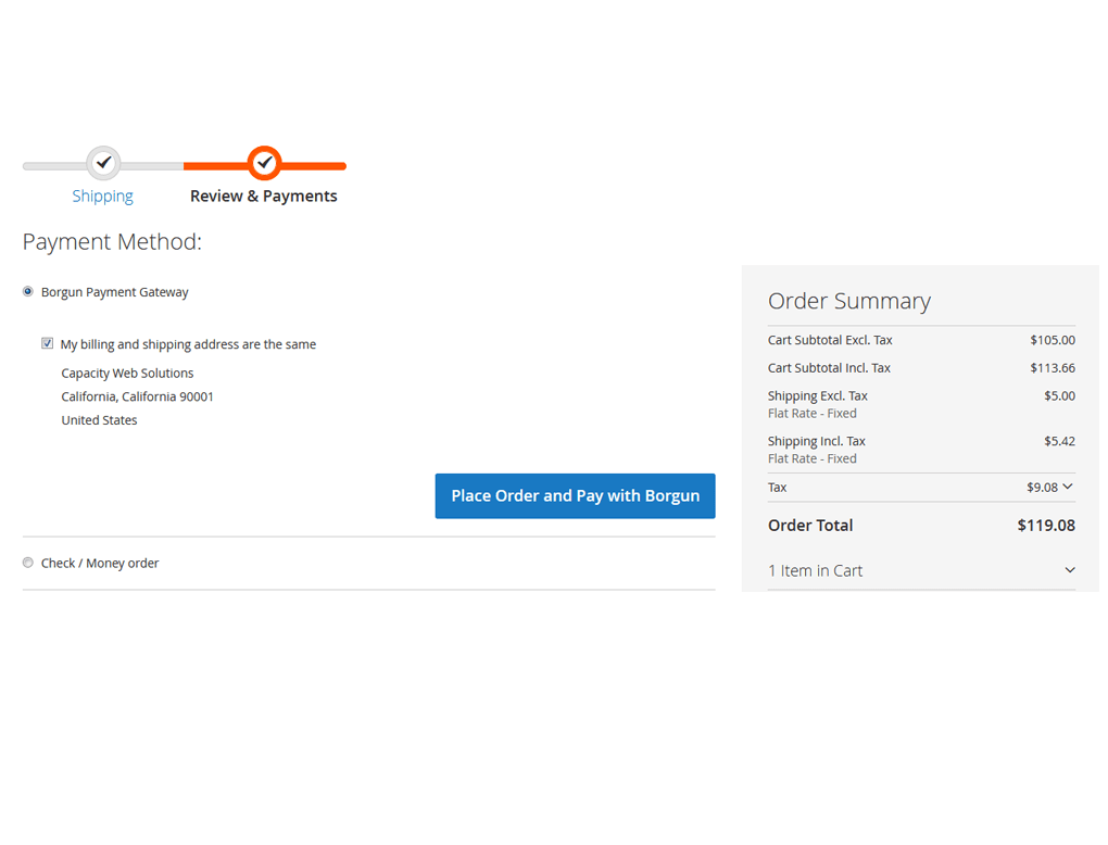Magento Borgun Payment Method Extension by MageBees