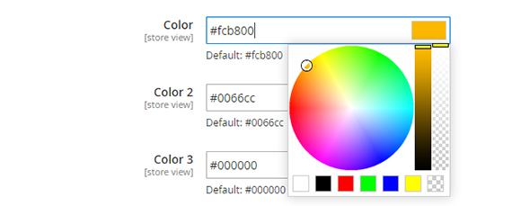 multiple color