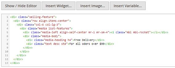editor syntax highlight