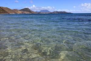 Friar's Bay Beach on St. Kitts