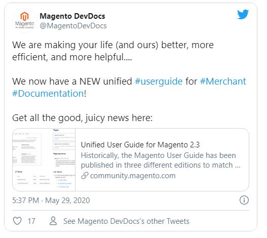 merchdocs-aggiornamento