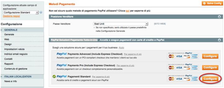 metodi pagamento paypal