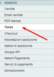 Configurazione   Sistema   Magento Admin