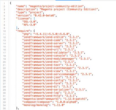 Installazione sample data