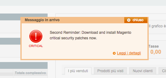 Critical Reminder - Download and install Magento Security Patch