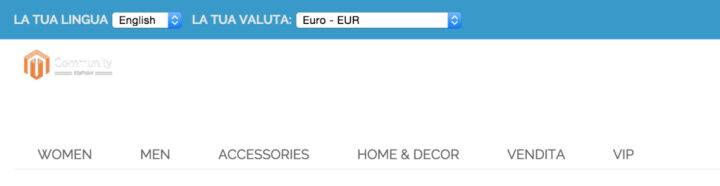 Valuta Magento Currency
