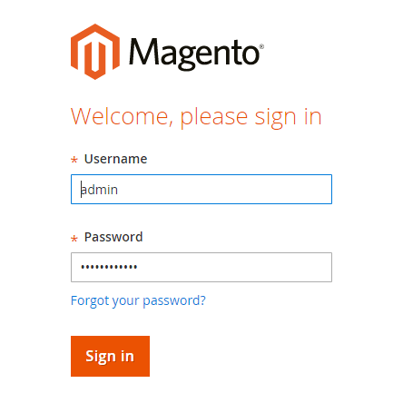 Magento Welcome