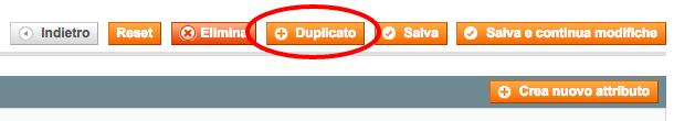 duplicazione prodotto per split test