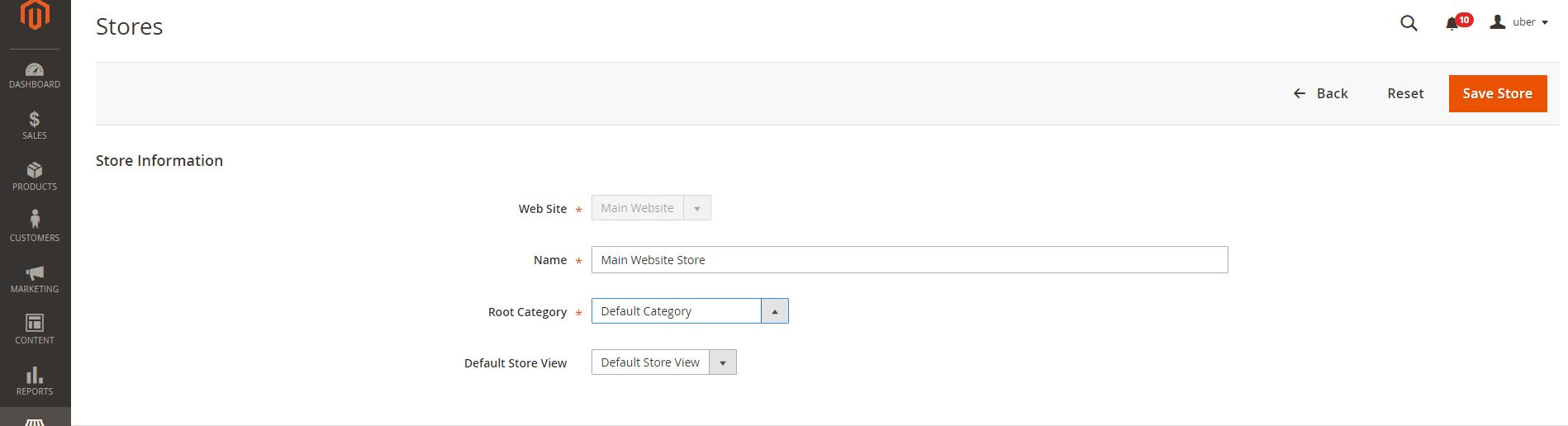 attivazione-root-category